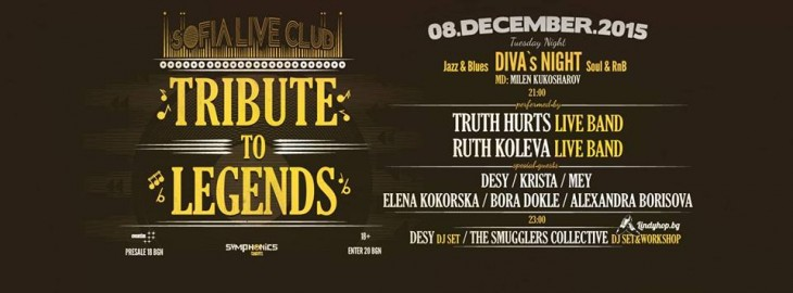 Tribute to Legends - Diva's night