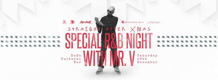 Special R and B Night with Mr. V