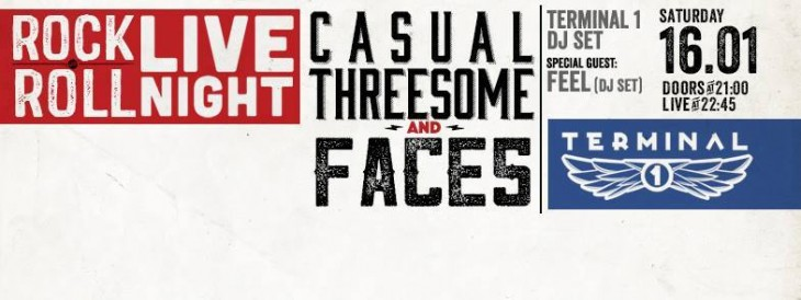 Casual Threesome and Faces