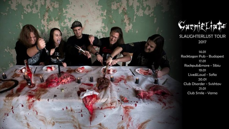 Carnifliate and Distorted Reality - Death Metal Massacre Night