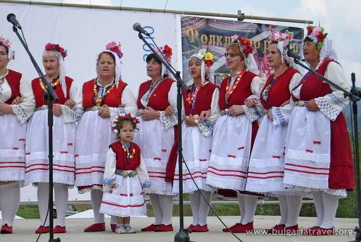 The National Festival of Bulgarian Folklore (photo)